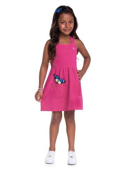 Vestido-infantil-menina-de-malha-com-estampa-de-borboletas-Brandili