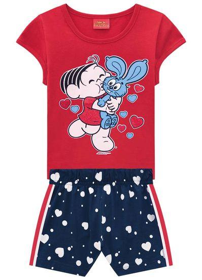 Conjunto-Infantil-Menina-De-Malha-Com-Estampa-Da-Turma-Da-Monica-Brandili