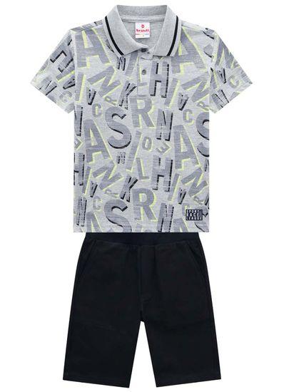 Conjunto-Infantil-Menino-Com-Camisa-Polo-E-Bermuda-De-Sarja-Brandili
