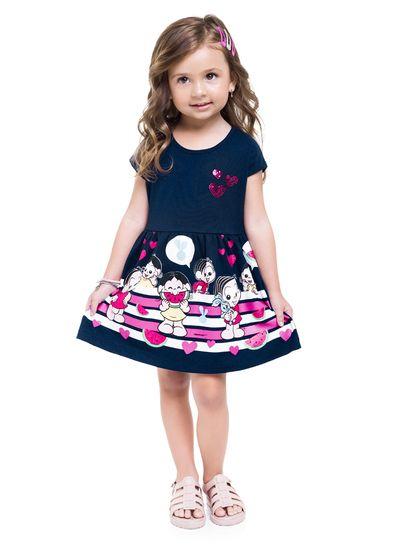 Vestido-Infantil-Menina-De-Malha-Com-Estampa-Da-Turma-Da-Monica-Baby-Brandili