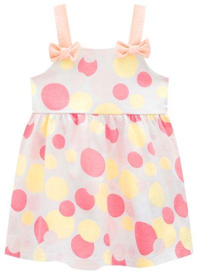 Vestido-Bebe-Menina-De-Malha-Com-Estampa-De-Bolinhas-Brandili-Baby