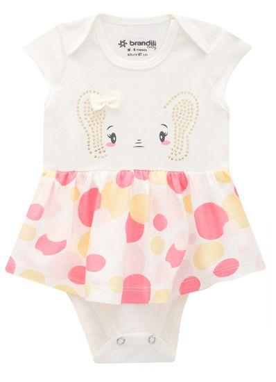Vestido-Body-Bebe-Menina-De-Malha-Com-Estampa-De-Elefantinha-Brandili-Baby