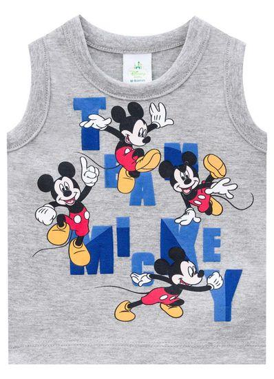 Regata-Bebe-Menino-De-Malha-Com-Estampa-Do-Mickey-Brandili-Baby