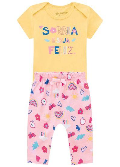 Conjunto-Bebe-Menina-De-Malha-Com-Estampa-De-Arco-Iris-Brandili-Baby