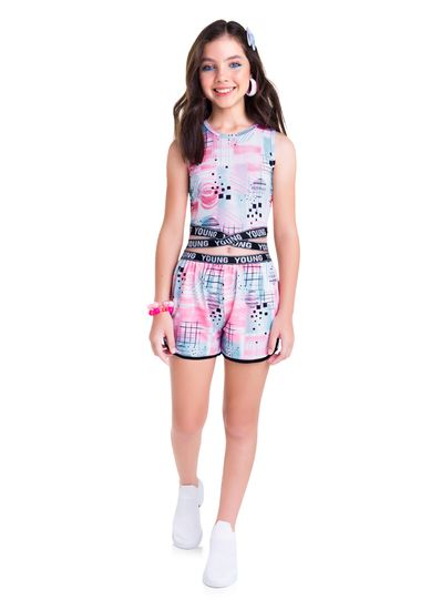Conjunto-Teen-Menina-De-Cotton-Com-Estampa-E-Elastico-Personalizado-Young-Class