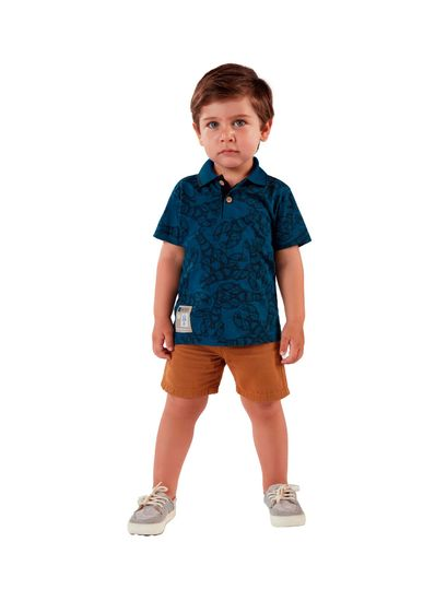 Camisa-Polo-Infantil-Menino-De-Malha-Com-Estampa-De-Lagosta-Mundi