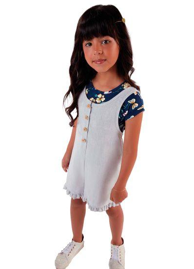 Conjunto-Infantil-Menina-De-Linho-Com-Estampa-De-Flores-Mundi