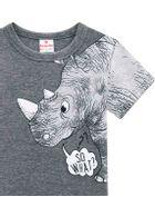 Camiseta-Infantil-Menino-De-Malha-Com-Estampa-De-Rinoceronte-Em-Puff-Brandili