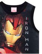 Camiseta-infantil-menino-de-malha-com-estampa-do-Homem-de-Ferro-Vingadores-Brandili