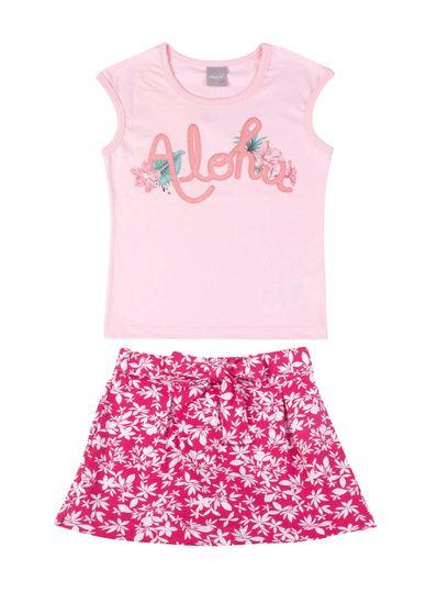 Conjunto-Infantil-Menina-De-Malha-Com-Estampa-Floral-Mundi