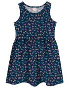 Vestido-Infantil-Menina-De-Malha-Com-Estampa--Personalizada-Brandili