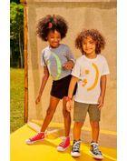 Camiseta-Infantil-Para-Meninos-E-Meninas-De-Malha-Reviva-Com-Estampa-De-Smile-Brandili