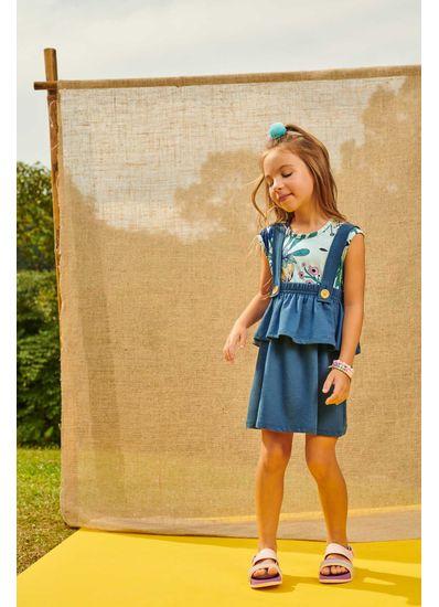 Conjunto-Infantil-Menina-De-Moletinho-Com-Estampa-Floral-Brandili