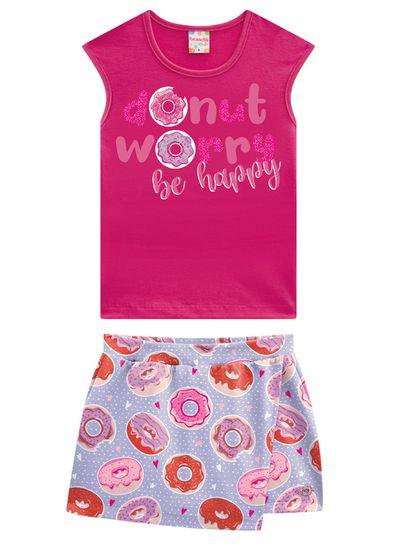 Conjunto-Infantil-Menina-De-Malha-Com-Estampa-De-Donuts-Brandili