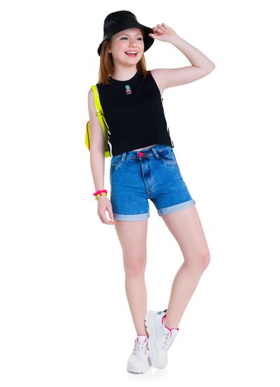 Blusa-Cropped-Teen-Menina-De-Malha-Com-Cor-Lisa-Young-Class