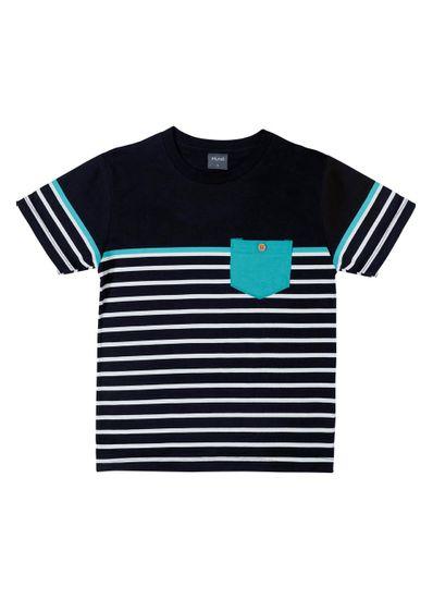 Camiseta-Infantil-Menino-De-Malha-Com-Listras--Mundi