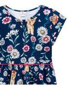 Vestido-Infantil-menina-de-malha-com-estampa-de-cachorrinhos-e-margaridas-Brandili