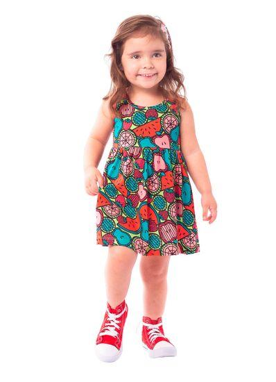 Vestido-Infantil-Menina-Malha-Estampa-De-Frutas-Brandili
