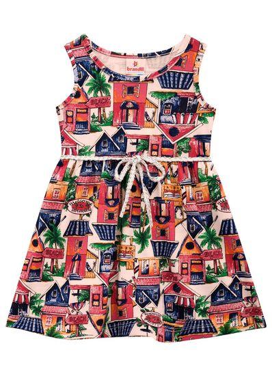 Vestido-Infantil-Menina-Malha-Estampa-De-Casinhas-Brandili