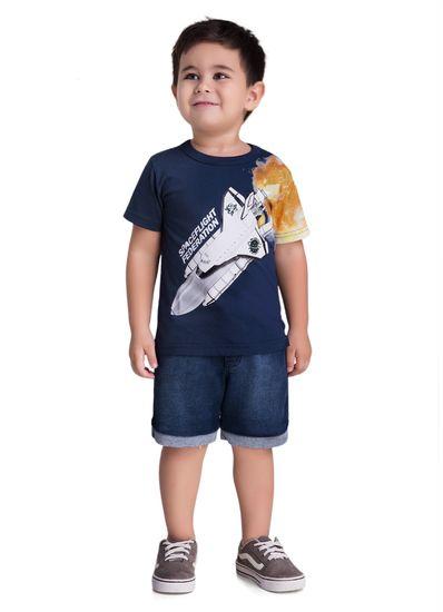 Camiseta-Infantil-Menino-Malha-Estampa-De-Espaconave-Brandili