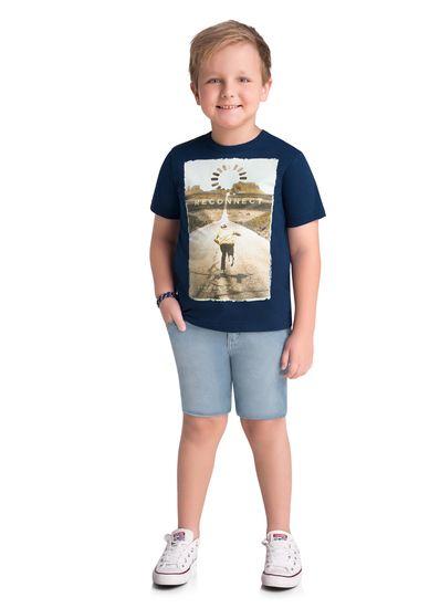 Camiseta-Infantil-Menino-Malha-Estampa-De-Skatista-Brandili