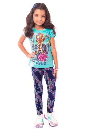 Calca-Legging-Infantil-Menina-Cotton-Estampa-De-Tucanos-Brandili