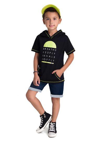 Camiseta-Infantil-Menino-Com-Capuz-E-Bolsos-Funcionais-Brandili