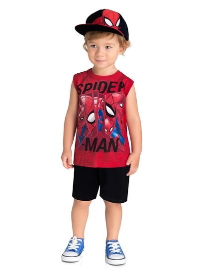 Regata-Infantil-Menino-Malha-Estampa-Do-Homem-Aranha-Brandili