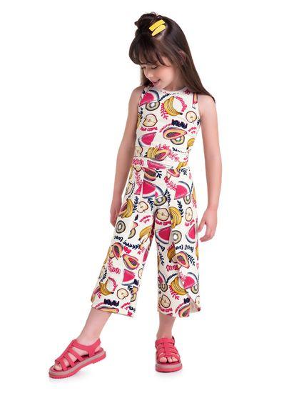 Conjunto-Infantil-Menina-Cotton-Estampa-De-Frutas-Brandili