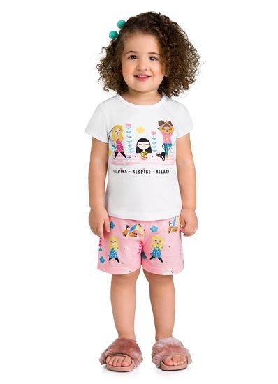 Pijama-Infantil-Menina-Malha-Estampa-De-Yoga-Brandili