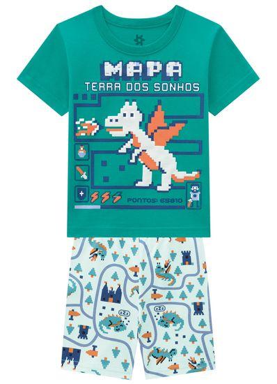 Pijama-Infantil-Menino-Malha-Estampa-Dinossauro-Em-Puff-Brandili