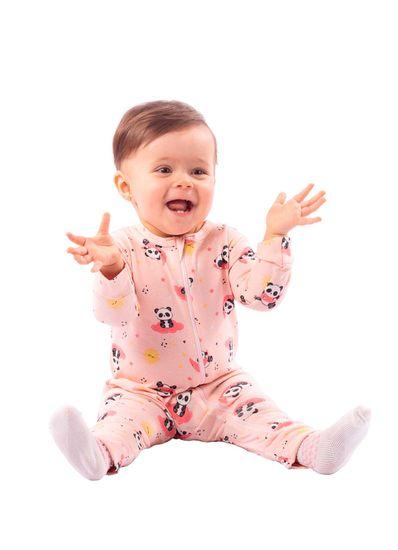Macacao-Bebe-Unissex-Cotton-Estampa-De-Ursinho-Brandili-Baby