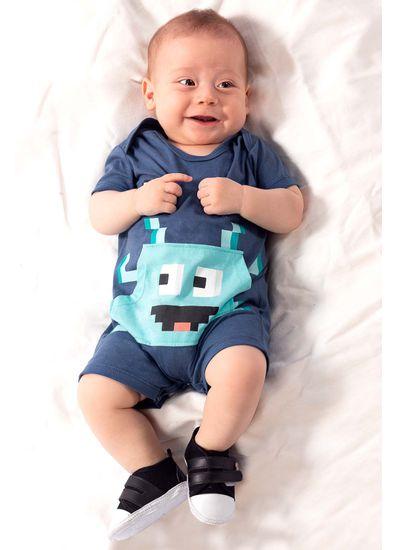 Macaquinho-Bebe-Menino-Malha-Estampa-De-Monstrinho-Brandili-Baby