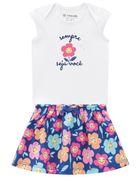 Conjunto-Bebe-Menina-Cotton-Estampa-De-Florzinha-Brandili-Baby