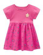 Vestido-Bebe-Menina-Malha-Estampa-De-Estrela-Brandili-Baby