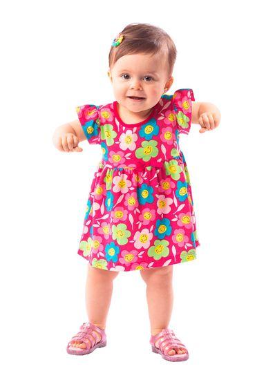 Vestido-Bebe-Menina-Malha-Estampa-De-Florzinha-Brandili-Baby