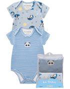 Kit-De-Bodies-Bebe-Unissex-Cotton-Estampa-Ursinho-Brandili-Baby