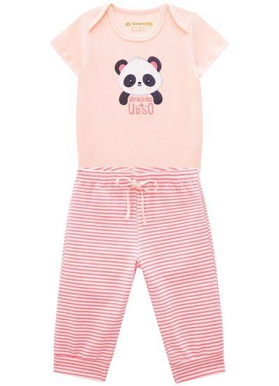 Conjunto-Bebe-Unissex-Cotton-Estampa-De-Ursinho-Brandili-Baby