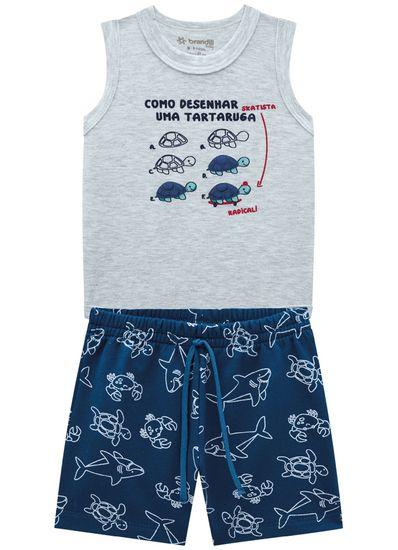 Conjunto-Bebe-Menino-Cotton-Estampa-De-Tartarugas-Brandili-Baby