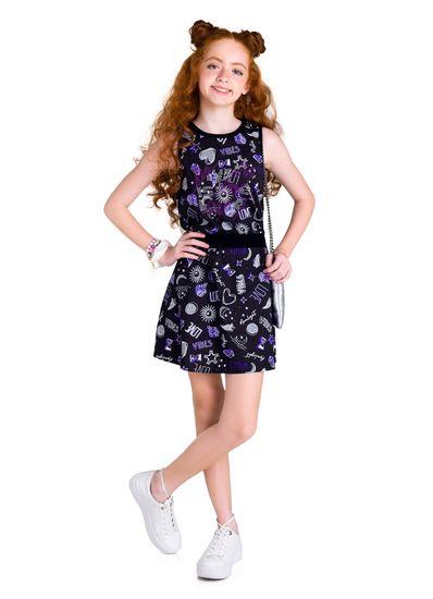 Vestido-Teen-Menina-Malha-Estampa-Mistica-Young-Class