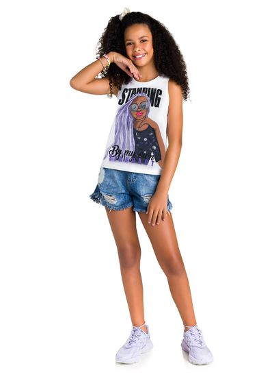 Blusa-Teen-Menina-Malha-Estampa-De-Menina-Young-Class