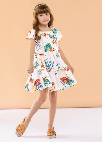 Vestido-Infantil-Menina-Cotton-Estampa-De-Fundo-Do-Mar-Mundi