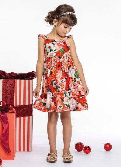Vestido-Infantil-Menina-Malha-Estampa-De-Flores-Mundi