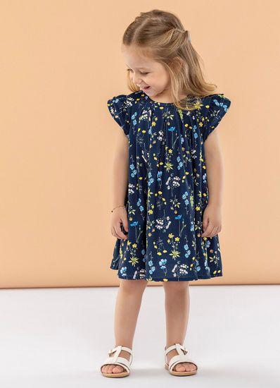 Vestido-Infantil-Menina-De-Viscose-Digital-Estampa-Flores-Mundi