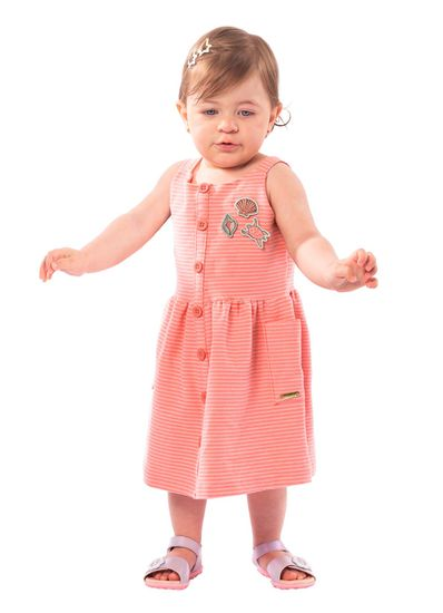 Vestido-Infantil-Menina-Malha-Estampa-De-Listras-Mundi