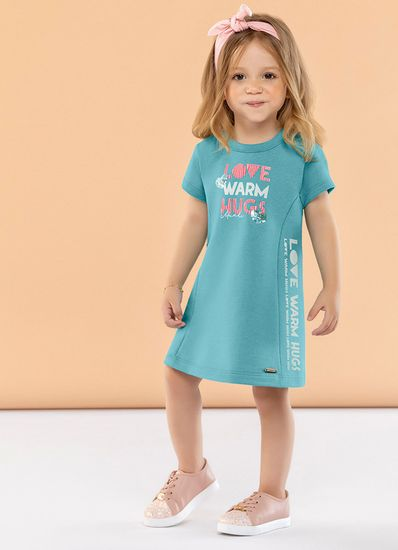 Vestido-Infantil-Menina-De-Moletinho-Estampa-Personalizada-Mundi