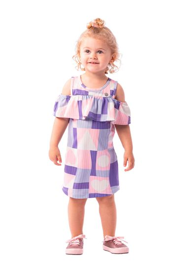 Vestido-Infantil-Menina-Cotton-Estampa-Geometrica-Mundi