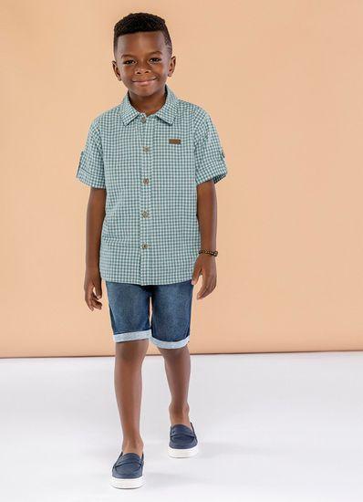 Camisa-Infantil-Menino-De-Tricoline-Estampa-Xadrez-Mundi