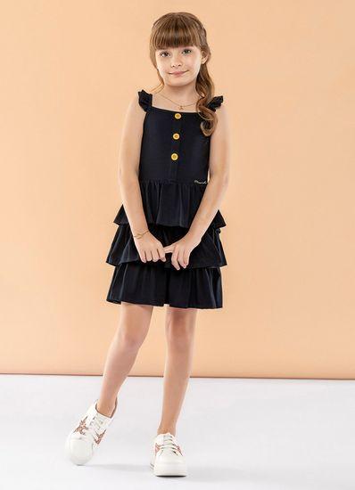 Vestido-Infantil-Menina-Malha-Com-Cor-Lisa-Mundi
