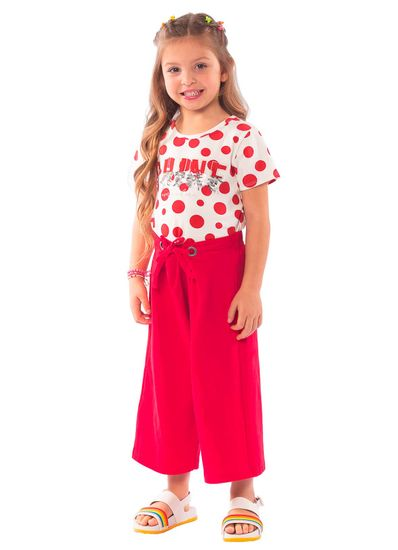 Conjunto-Infantil-Menina-Cotton-Estampa-De-Bolinhas-Mundi
